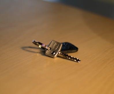 ключ за патрон Dom Diamant с ключодържател
