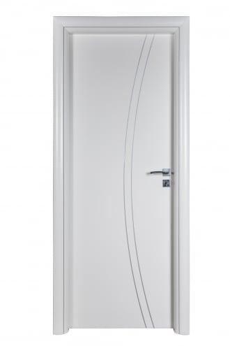 Интериорна врата Art line с полипропиленива боя с лайсни