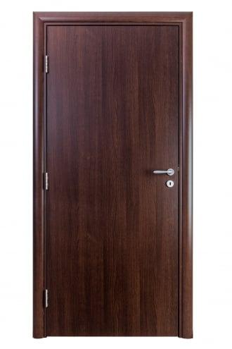 Интериорна врата Art line с дървесен декор Тъмен дъб