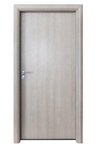 Интериорна врата S Line - врати за баня с дървесен декор