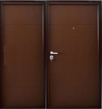 Врата за къща с механично заключване xDoor 50 Deco M Duo