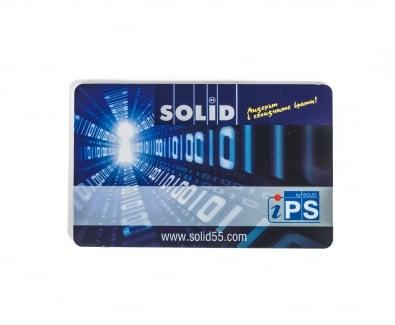 безконтактна карта за отключване на входна блиндирана врата Солид 55