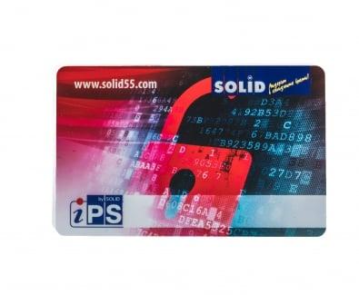 безконтактна карта RFID за отключване на входна врата Солид 55  със защита от копиране