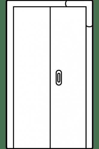 Интериорна врата Art line плъзгаща