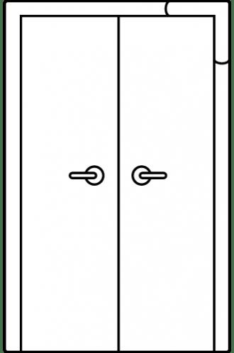 Интериорна врата Art line двукрила
