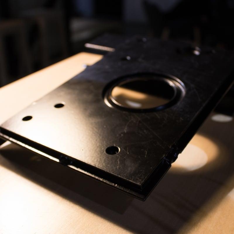 усилена стоманена кутия ProBox за вътрешен монтаж на бравата от Солид 55