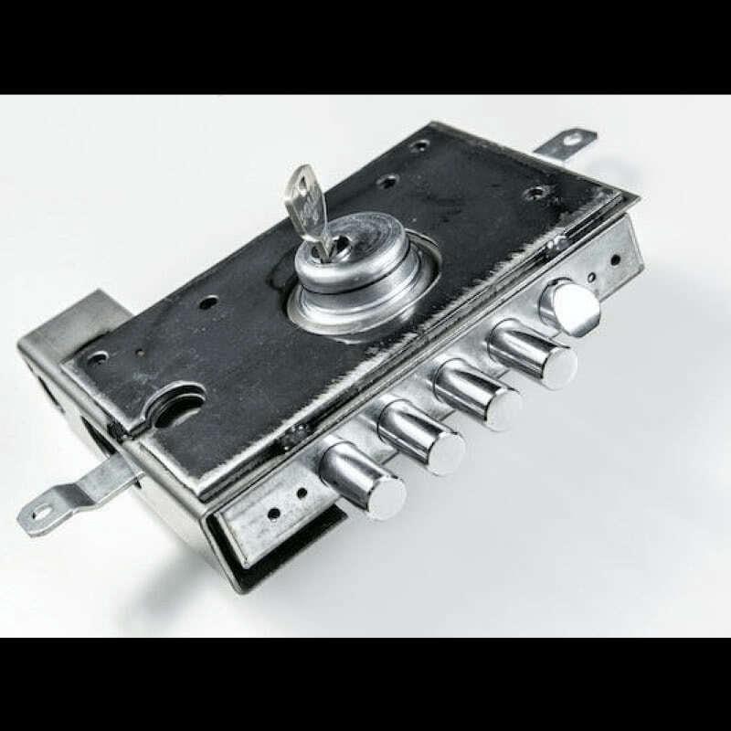 усилена стоманена кутия ProBox за вътрешен монтаж на бравата при врати Солид 55