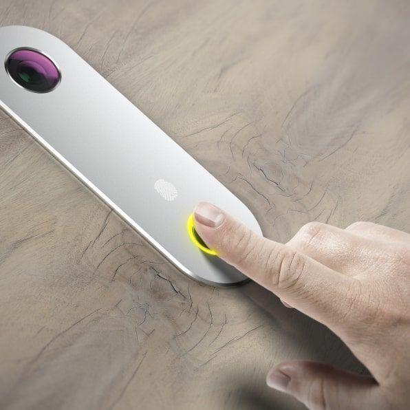 Отключване на блиндирана врата с пръстов отпечатък от Солид 55
