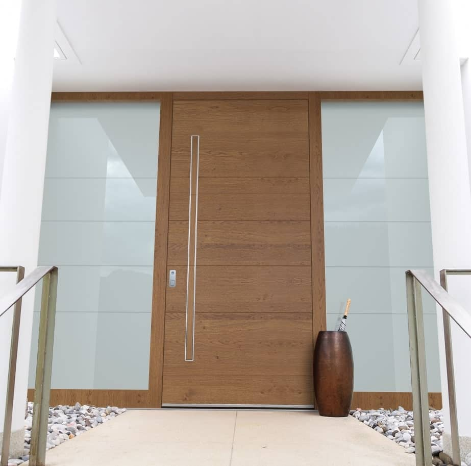 входна алуминиева врата Pirnar